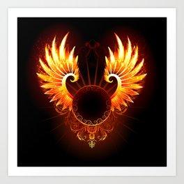 Wings Phoenix Art Print