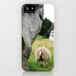 Avebury Stones England iPhone Case