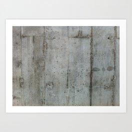 Concreto Art Print