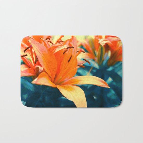 Summer Lilies I Bath Mat