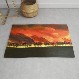 Firestorm Rug