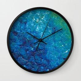 Ocean Waves, Abstract Acrylic Wall Clock