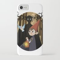 over the garden wall iPhone & iPod Cases featuring Over The Garden Wall by Lockholmes