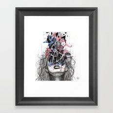 nothin Framed Art Print