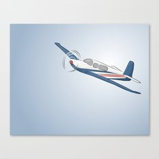 Child's Airplane Canvas Print