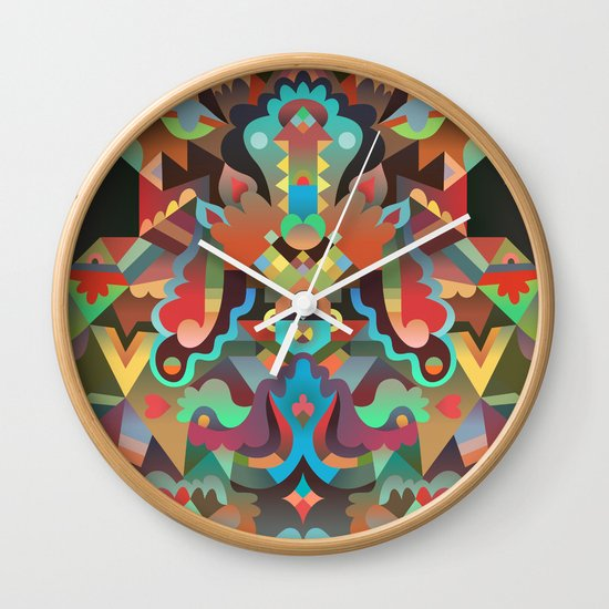 Your Dæmon Wall Clock