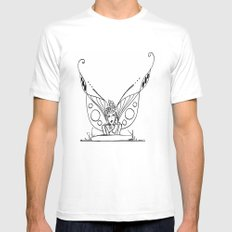 Daydreaming  MEDIUM Mens Fitted Tee White