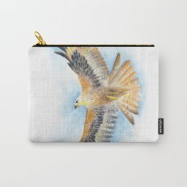 Red Tail Hawk Carry-All Pouch