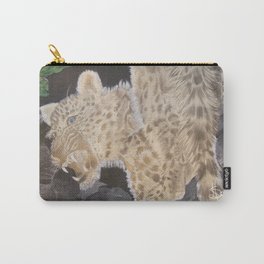 Leopard Caught in the Light. Carry-All Pouch