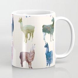 Color LLamas Coffee Mug