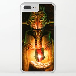 Scavenger Heroes series - 9 Clear iPhone Case