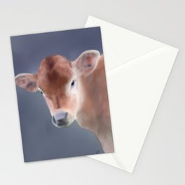 Moooove over, it's time for my close up - farm series Stationery Cards