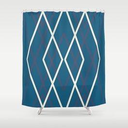 Deep Bleu Dream Shower Curtain