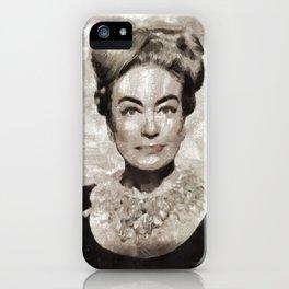 Joan Crawford, Vintage Actress iPhone Case