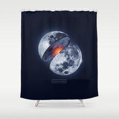 Moon Shower Curtain