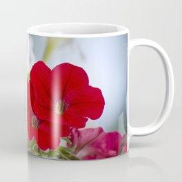 Antique Petunia Flowers Coffee Mug