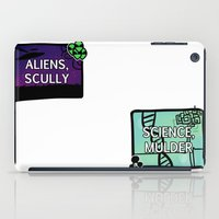 aliens iPad Cases featuring Aliens, Scully by raynall