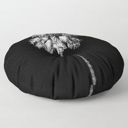 PALM DARK 2 Floor Pillow
