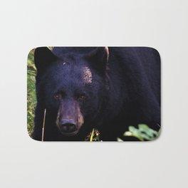 Black Bear Bath Mat