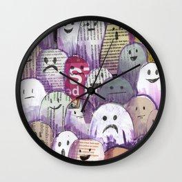 ghost magazine Wall Clock