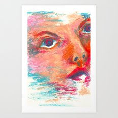Color Swept Art Print