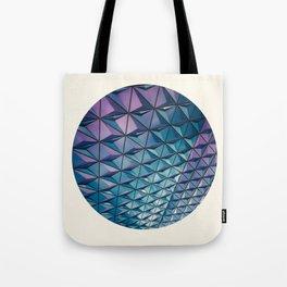 Colorful Geometric Pattern Tote Bag