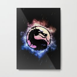 MK Video Game Metal Print