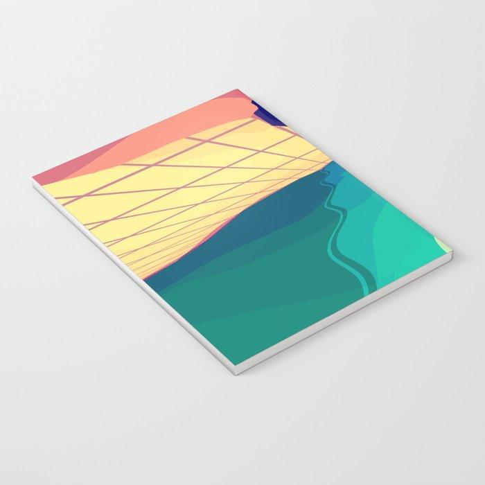 Over the Horizon Notebook