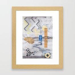 Shed light on the water crises Framed Art Print