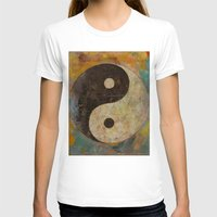 yin yang T-shirts featuring Yin Yang by Michael Creese