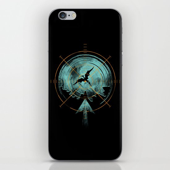 the last predator iPhone & iPod Skin
