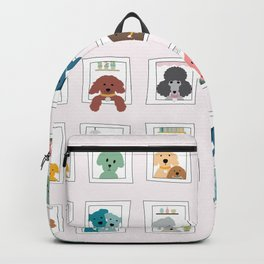 Dogs in the Window Backpack