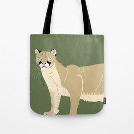Carnivores of World: Cougar Pum(a) (c) 2017 Tote Bag