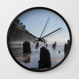 Neskowin Ghost Forest Wall Clock