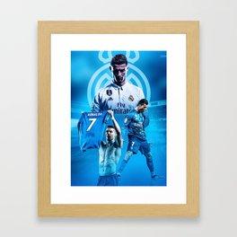 CR7 To Juve Framed Art Print