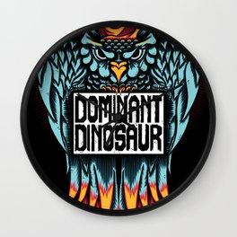 Dominant Owl Wall Clock