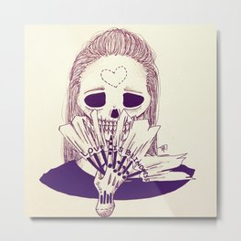 Love is Blindness. Metal Print
