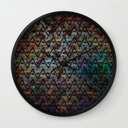 All Seeing Pattern Wall Clock