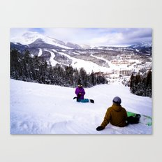 Shreddin' Canvas Print