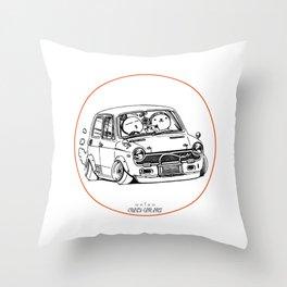Crazy Car Art 0223 Throw Pillow