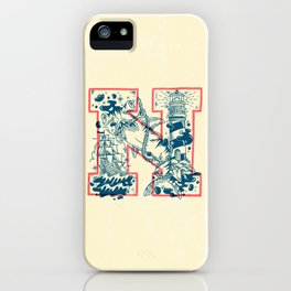 N for Nautical iPhone Case