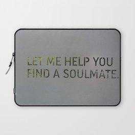 Let me help you soul 4 Laptop Sleeve