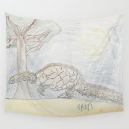 Pangolin Wall Tapestry
