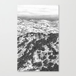 San Jose Hills Canvas Print