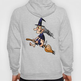 Witch on a broom Hoody