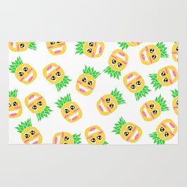 Cute Pineapple Patterm Rug