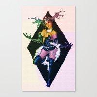 devil Canvas Prints featuring Devil by kumo izuru
