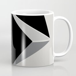 Shapes, black and grays Coffee Mug