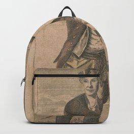 Vintage Portrait of General Joseph Warren (1871) Backpack