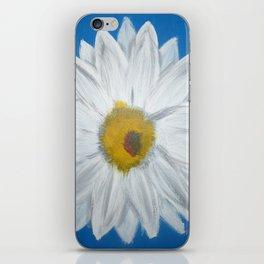 Egyptian Blue Daisy iPhone Skin